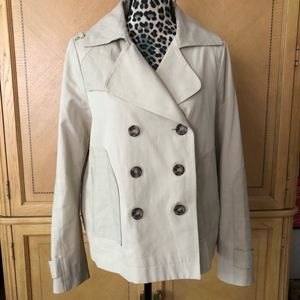 Comptoir des Cotonniers Cropped Swing Trench 44